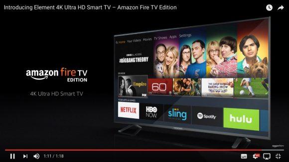 【マジかよ】米Amazonが「FireTV内蔵・4Kスマートテレビ」を発表! 43インチが約5万円と超お得!!