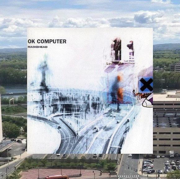 Radiohead『OKコンピューター』のジャケットがアメリカ・コネチカット州のハイウェイと一致か / 1996年のツアーで撮られた写真の可能性大