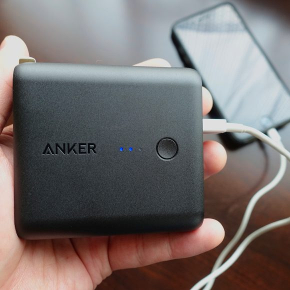 【爆売れ】Amazonで大人気のモバイルバッテリー「Anker PowerCore Fusion 5000」を使ってみた