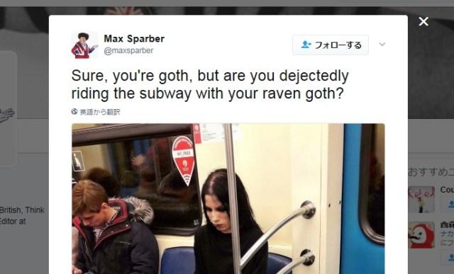 【世界が二度見】「地下鉄にとんでもないペットと乗客がいた」って画像が猛烈な勢いで拡散中