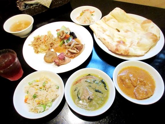 1000円でインド・タイ・中華料理が食べ放題! 味とコスパを両方極めた最強ランチビュッフェがこれだ!! 東京・神楽坂「アジアンパーム」