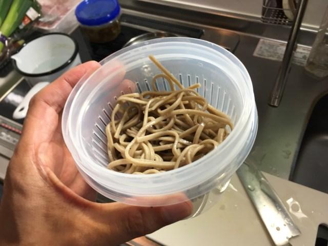 【お弁当派必見】100均の『薬味保存パック』が「冷そば弁当」の容器として最高なことが判明