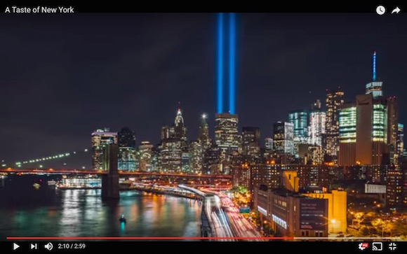【驚異の映像美】ニューヨークの街を撮影した「タイムラプス映像」が映画かよってくらいメチャきれい!