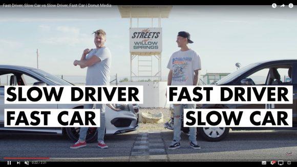 【対決動画】遅い車に乗った「運転上手」と速い車に乗った「素人ドライバー」がサーキットでタイムを競うとこうなる