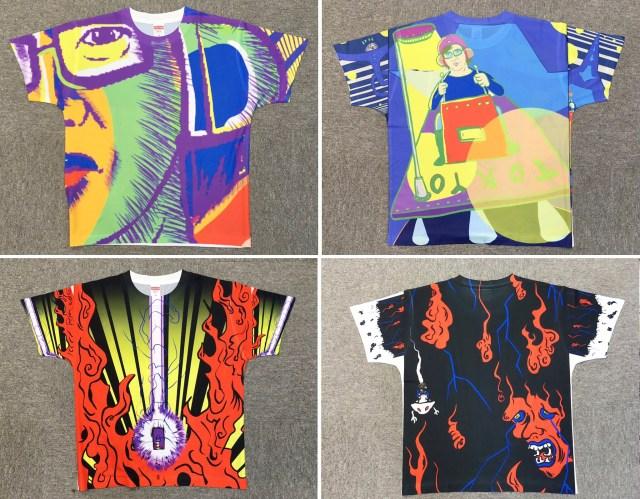 「全面プリント」のオリジナルTシャツを作ってみた! 時間はかかるが価格は手頃でなかなか良し!!