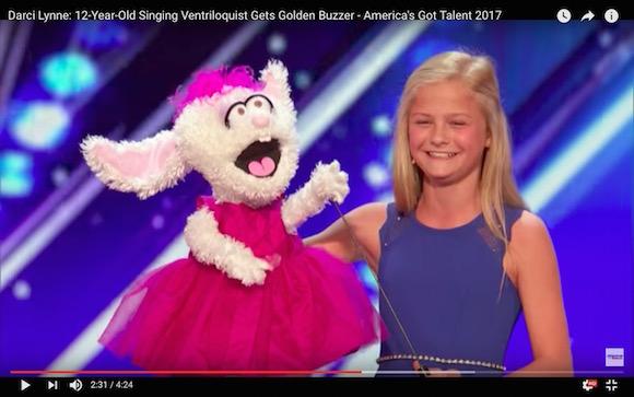 いっこく堂もビックリ!?  腹話術なのに「圧倒的な歌唱力」で会場のド肝を抜いた少女(12歳)が現る