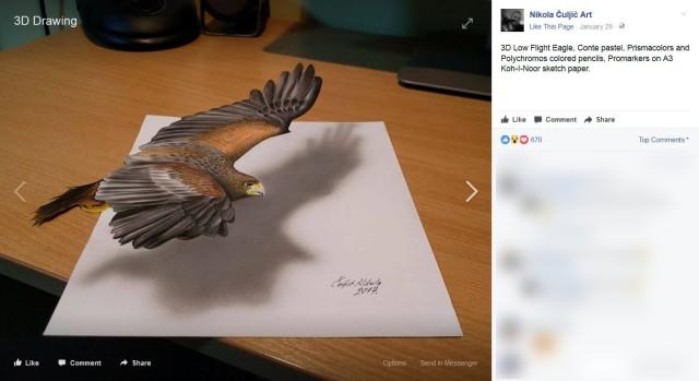 【飛び出す生命】紙一枚で表現する3Dアートがマジで必見!