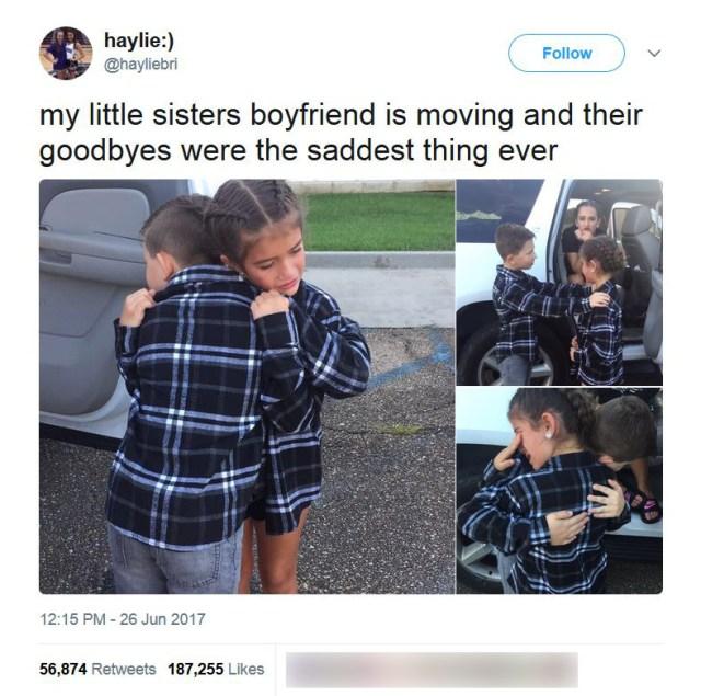 ちっちゃな時からずっと一緒だった「9歳の幼なじみカップルの別れ」が悲しすぎると話題に