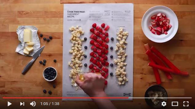 IKEAがレシピアプリを殺しにきた!? カナダ支店発のクッキングシートが料理を簡単にしすぎぃぃい!! のせる → 丸める → 焼くで終了〜