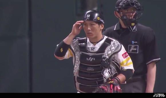 【プロ野球】12球団No.1の送球スピード! ソフトバンク甲斐選手のレーザービーム集が何度見てもヤバい