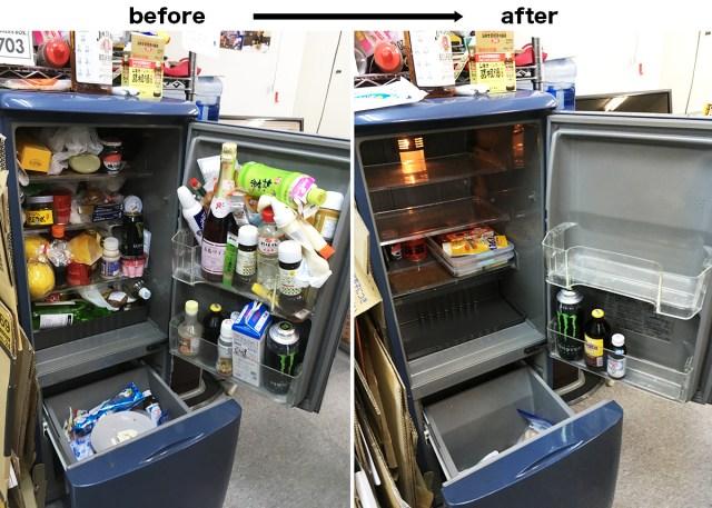 【閲覧注意】冷蔵庫にバナナを約10カ月間入れておくとこうなる / 会社の冷蔵庫を掃除したら、ほとんどすべて賞味期限が切れていたでござる
