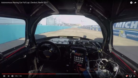 人工知能スゴすぎ! 無人のレーシングカーを運転する動画が未来を感じる驚きの走り