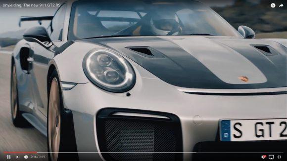 【爆速マシン】ポルシェが700馬力の新型モンスター「911 GT2 RS」を発表 / 時速100km到達までわずか2.8秒