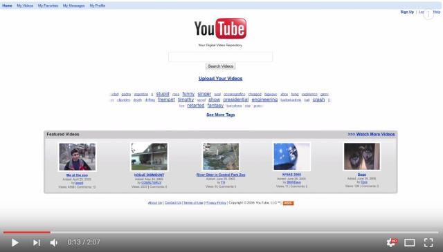 過去12年間の『YouTubeの進化』が一発で分かる動画が話題に! ネットの声「美しい動画だ」