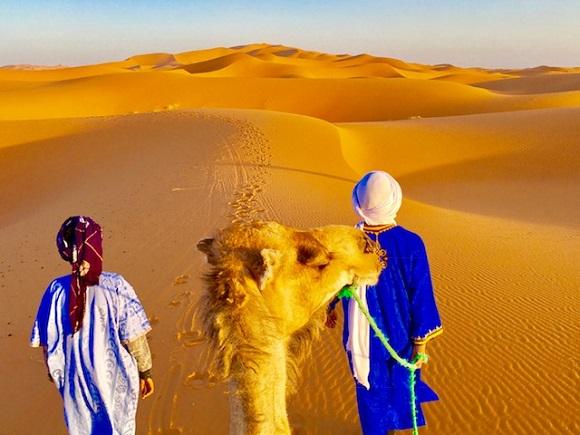 【実体験】ベルベル人から教えてもらった「サハラ砂漠で迷わない方法」を実践して歩いてみたら30分で迷ったでござる