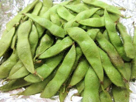 【話題】『鉄腕DASH』でTOKIOが食べていた「枝豆のホイル焼き」を実際にやってみた → ウマすぎて手が止まらねェェェエエ!
