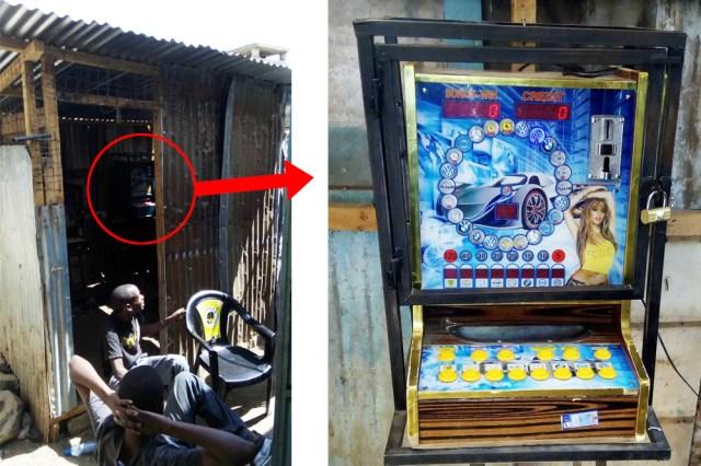 【あやしすぎ】カジノ? 駄菓子屋? これがケニア僻地の「賭けゲーセン」だ! マサイ通信:第84回