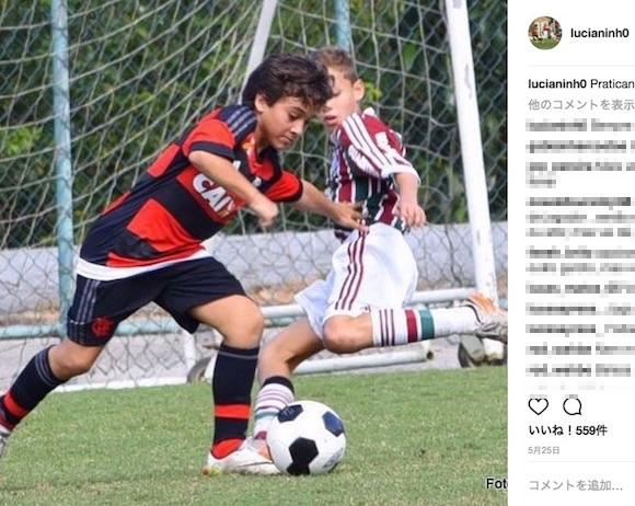 【動画あり】ネイマールも認めた12歳の天才少年が上手すぎ! ブラジルの新至宝「ルシアニーニョ」