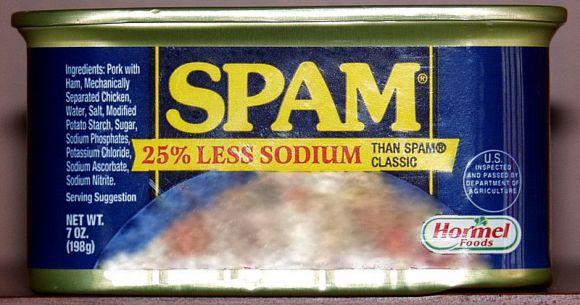 【素朴な疑問】スパム缶の『スパム』ってどういう意味なの!?