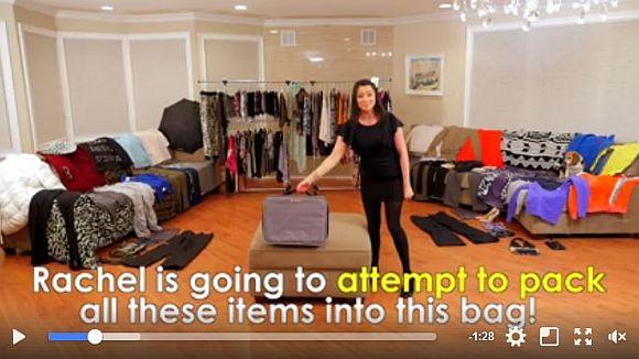 手品のような荷造りテク! 200アイテムをスーツケース1つに詰め込んじゃうパッキング動画がスゴイ!!