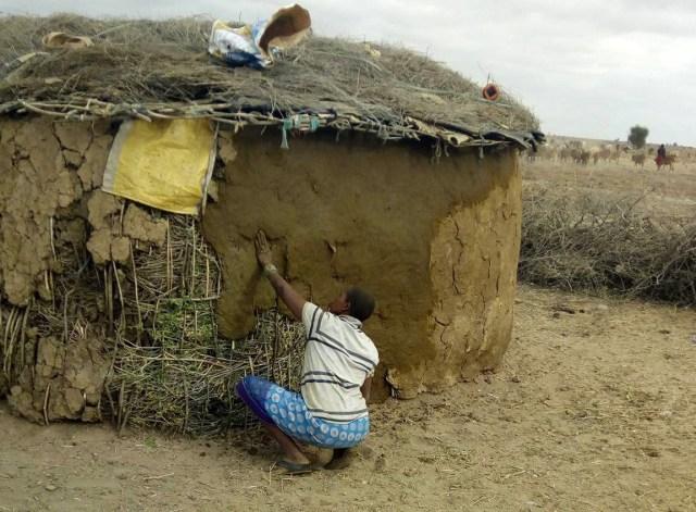 【DIY】マサイの家の直し方 / マサイ通信:第88回