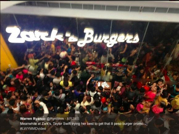 17円の激安バーガーが売り出された結果 → 人が来すぎて店内が地獄絵図に / フィリピンで起きたカオス事案