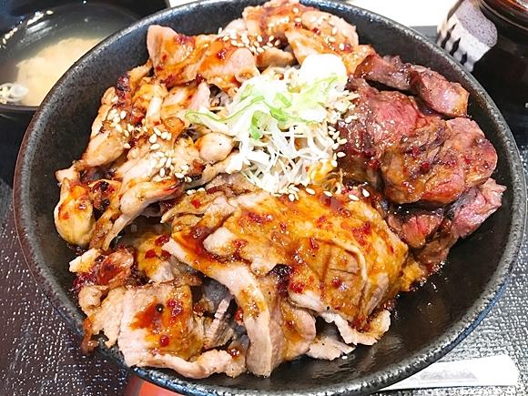 【超ガッツリ】肉・肉・肉の波状攻撃! 関西の肉丼専門店「肉劇場」が東京に進出!!  想像以上のボリュームでブレイク待ったなし