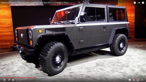 最高に使い勝手のいい電気自動車が爆誕! 軍用車両のように超ワイルドな「BOLLINGER B1」がこちらです