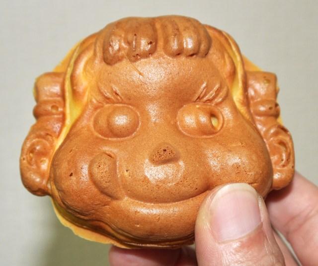【豆知識】見た目は怖いが味はイイ!「ペコちゃん焼」が食べられるのは不二家神楽坂店だけ!!