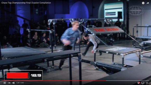 【大人の本気】世界一を決める「鬼ごっこ選手権大会」の動画がこちらです