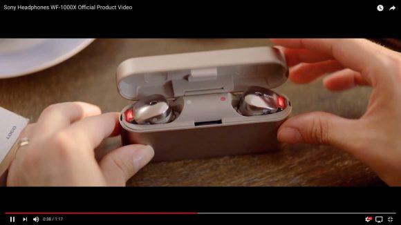 ソニー初の完全無線イヤホン「WF-1000X」が10月発売! 最高峰のノイズキャンセリング&スタイリッシュなデザインで欲しくなること間違いなし!!