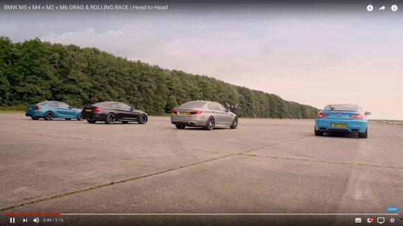 【爆速対決】 BMWの最高峰「Mモデル」4種の中で最も速いマシンがこれだ!