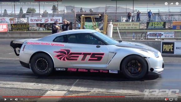 3000馬力のクレイジーマシンと化した「GT−R」がゼロヨン世界最速記録を更新! 最高時速は357km!!