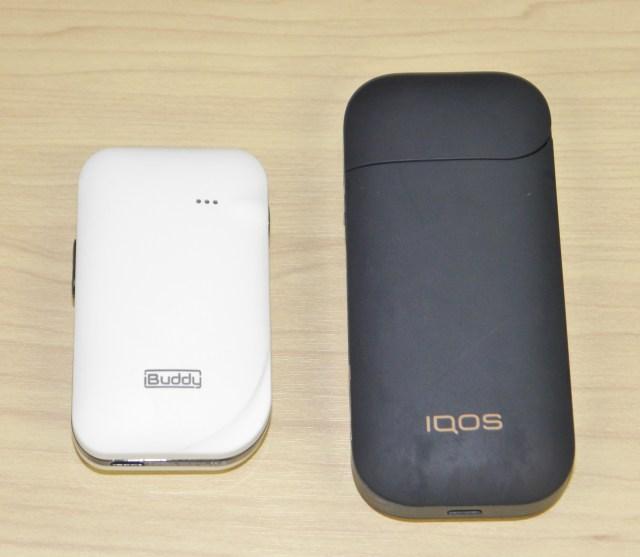 アイコス難民に朗報! アイコス互換のヒートデバイス「アイバディー(iBuddy)」が超便利!! 手のひらサイズで連続喫煙も可能だ