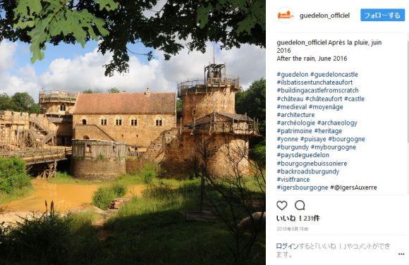 13世紀の建設方法で中世の城を復元するプロジェクトが壮大すぎる! 20年前に始まり6年後に完成予定