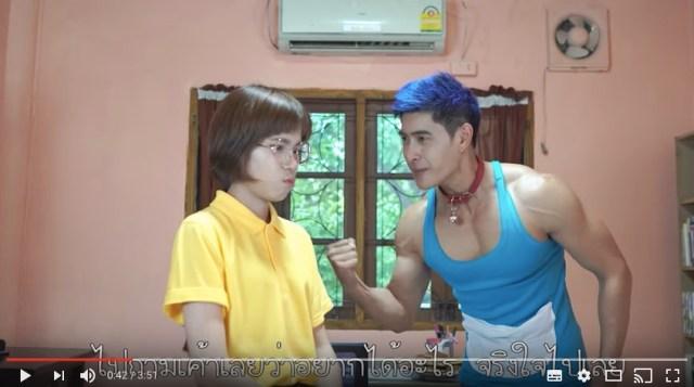 【動画】タイでドラえもんが実写化! 「ドラちゃんがマッチョだったら」って映像が眼福すぎると話題に!!