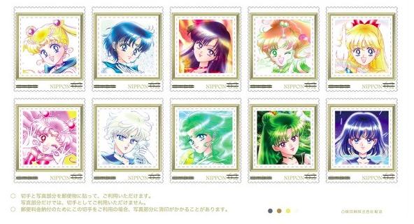 【欲しい】ついに! セーラームーンの切手が発売されるよ / 美しすぎてまるで原画集! 保存用にもう1セット欲しい