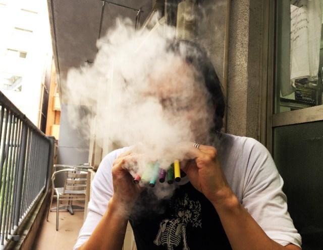 電子タバコで「ガツーン」とくる方法を考えてみた結果こうなった