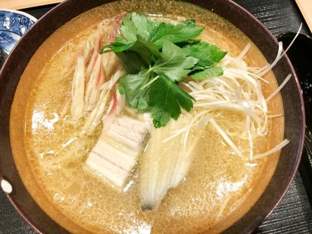 【マジかよ】回らない寿司屋でラーメンが食べられるだと!? ランチ12食限定『寿司屋の塩麺』が至高の一杯だった! 東京・白金「おさむ」