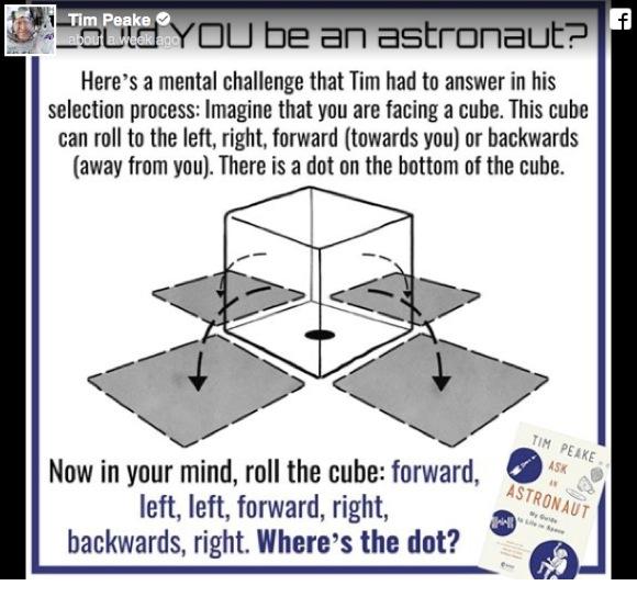実際に出題された「宇宙飛行士の選抜クイズ」がこれだ!あなたは解けるか!?