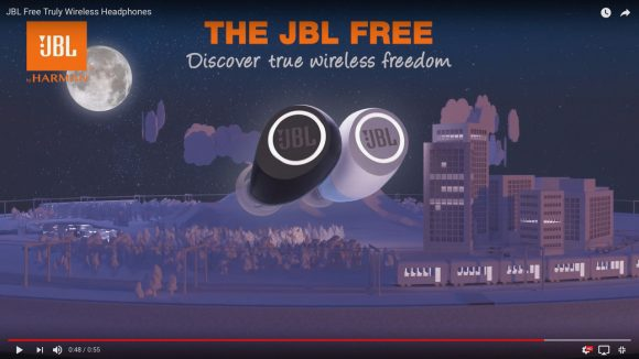 JBL初の完全無線イヤホン「JBL FREE」が11月発売! 1万4880円で24時間使用&防水機能も搭載!!