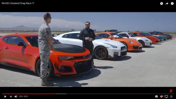 スゴいぞ電気自動車!「有名スポーツカー12車種」で最速マシンを決めるレース、まさかの結末に!!
