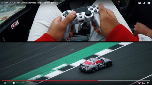 PS4のコントローラーで操縦する「日産GT−R」が爆誕! 無人走行で最高時速211kmを記録