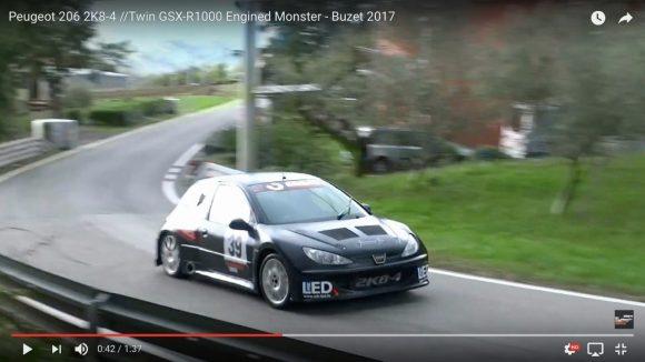 【魔改造】スーパーバイク「スズキ・GSX−R1000」のエンジンを積んだ自動車の走行音が大迫力すぎてヤバい