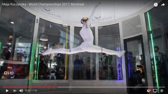 【空中遊泳】日本にも上陸した「インドア・スカイダイビング」の世界大会の演技がまるで妖精のよう