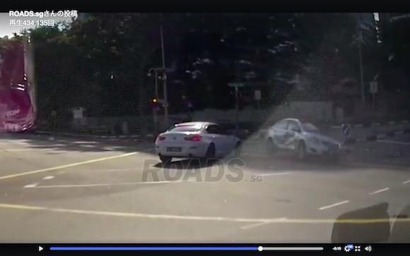 ドラレコは見ていた! いきなり現れる「ゴーストカー」の映像がマジ恐怖