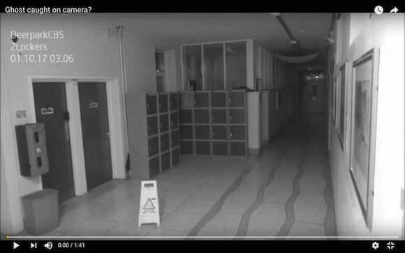 【心霊映像】カメラは見ていた! 午前3時に学校で起きたポルターガイスト現象が不気味すぎてヤバい