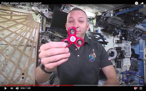 【クイズ】宇宙でハンドスピナーを回したらどうなるでしょう