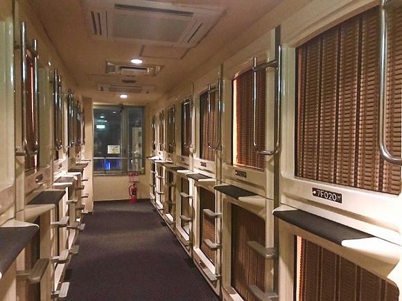 東京・上野のカプセルホテル『オリエンタル』に当日ネット予約2700円で泊まってみた / 予約ナシでも3000円で23時間利用可能!