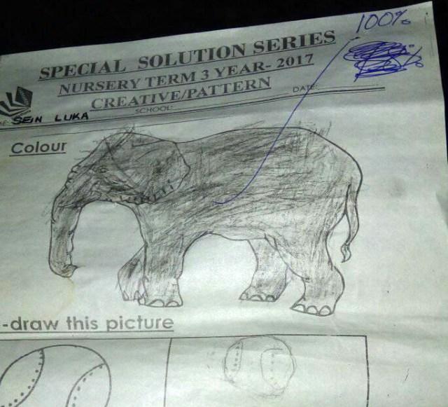 【天才】マサイ族の学校の「テスト答案用紙」を大公開! こっちの6歳児(小1)はこんな勉強をしているよ / マサイ通信:第111回